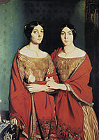 The Two Sisters, 1843, chasseriau