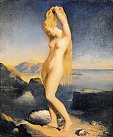 Venus Anadyomene, 1838, chasseriau