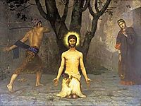 The Beheading of St. John the Baptist, 1869, chavannes