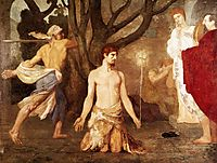 The Beheading of St. John the Baptist, c.1869, chavannes
