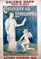 Chromolithograph Poster, chavannes