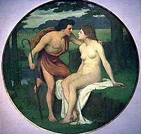 Daphnis and Chloe, c.1890, chavannes