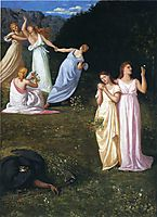 Death and the Maidens, chavannes