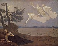 The Dream: , 1883, chavannes
