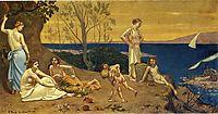 The Happy Land, 1882, chavannes