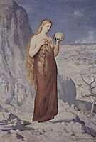 Mary Magdalene in the Desert, 1869, chavannes