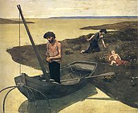 The Poor Fisherman, 1881, chavannes