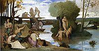 The River, 1865, chavannes
