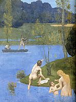 Summer (detail), 1891, chavannes