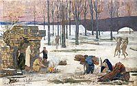 Winter, 1896, chavannes