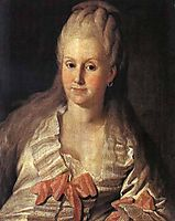 Portrait of Anna Muravyova, 1768, christineck