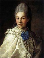 Portrait of Daria Aleksandrovna Troubetskaya, c.1770, christineck
