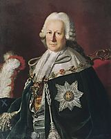 Portrait of Semen Ivanovich Mordvinov as Chevalier of the Order of St. Andrew, 1771, christineck