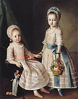 Portrait of Two Sisters, 1772, christineck