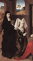 Isabella Of Portugal With St. Elizabeth, c.1458, christus