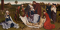 The Lamentation over the Dead Christ , christus