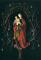 Our Lady of the Dry Tree , c.1450, christus