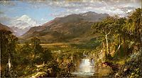 Heart of the Andes, 1859, church