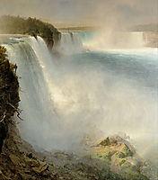 Niagara Falls, from the American Side, 1867, church