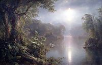 The River of Light, 1877, church