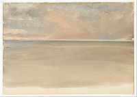 Seascape with Icecap in the Distance, 1859, church