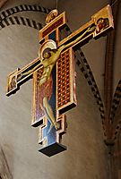 Crucifix, 1272, cimabue