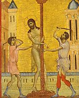 The Flagellation of Christ, 1280, cimabue