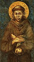 Saint Francis of Assisi (detail), cimabue