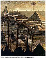 Alegro (Sonata of the Pyramids) , 1909, ciurlionis