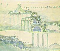 Allegro (Sonata of the Serpent), 1908, ciurlionis