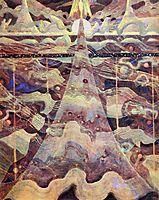 Allegro (Sonata of the Stars) , 1908, ciurlionis