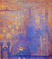 Allegro (Sonata of the Sun) , 1907, ciurlionis