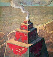 The altar, 1909, ciurlionis