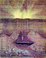 Andante (Sonata of the Sea) , 1908, ciurlionis