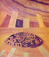 Andante (Sonata of the Sun) , 1907, ciurlionis
