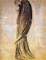 The angel, 1905, ciurlionis