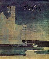 Aquarius, 1907, ciurlionis