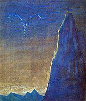 Aries, 1907, ciurlionis