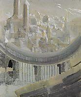 The city, 1908, ciurlionis