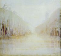 Daybreak (II), 1906, ciurlionis