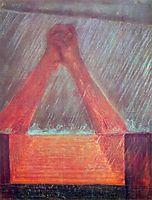 Deluge (VI), 1904, ciurlionis