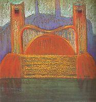 Deluge (IV), 1904, ciurlionis