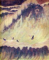 Finale (Sonata of the Sea) , 1908, ciurlionis