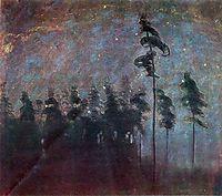 Forest, 1907, ciurlionis