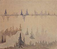 Fugue, 1908, ciurlionis