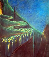 Funeral Symphony (VI), 1903, ciurlionis