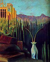 The goat , 1904, ciurlionis