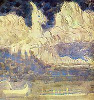 Journey of the Prince (II), 1907, ciurlionis