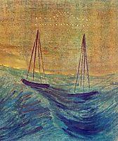 Libra, 1907, ciurlionis