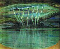 Lightning, 1909, ciurlionis